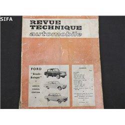 Ford Grande Bretagne Anglia Consul Cortina Revue technique