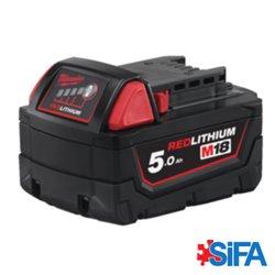 M18 B5 Batterie Red Lithium 5.0AH