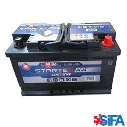 Batterie 12V 80Ah 800A START AND STOP